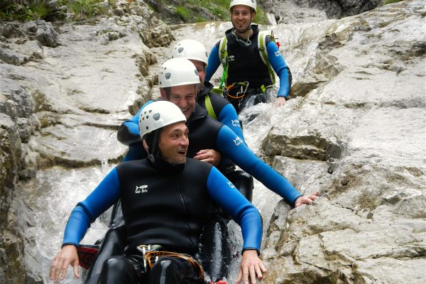 Canyoning Tannheimertal