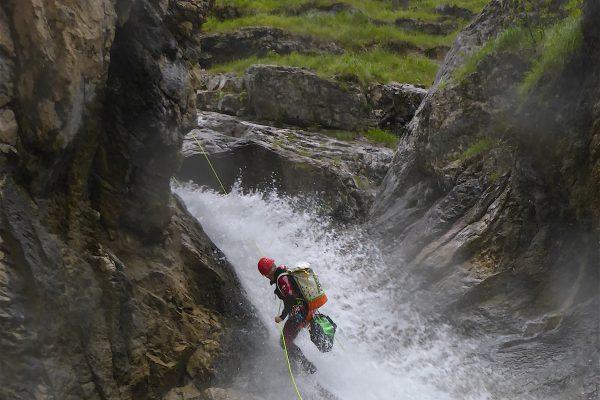 Canyoning Edelbach