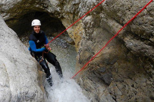 Canyoning Strindenbach
