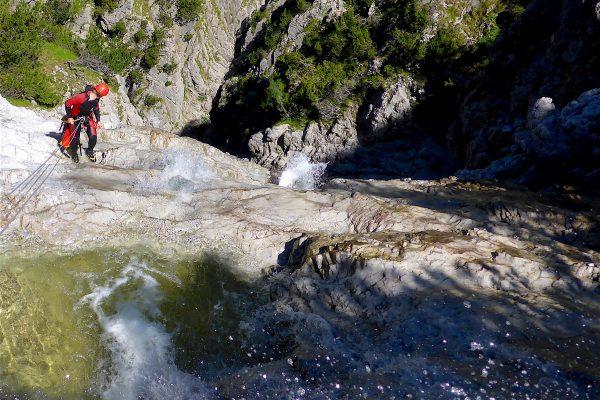 Canyoning Teufelstalbach