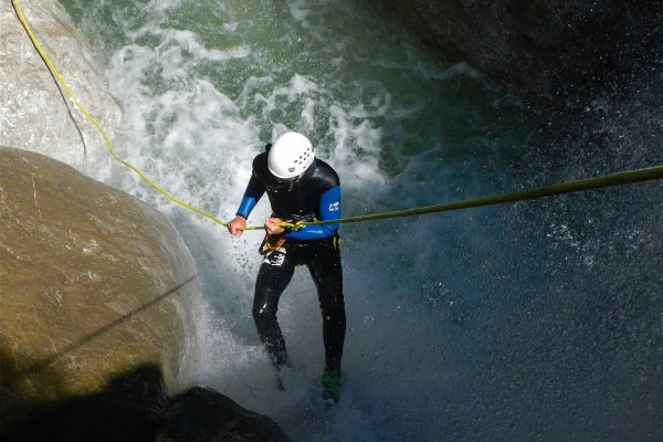 Canyoning Kobelache