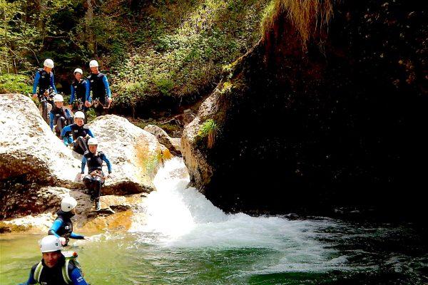 Canyoning im Ostertalbach