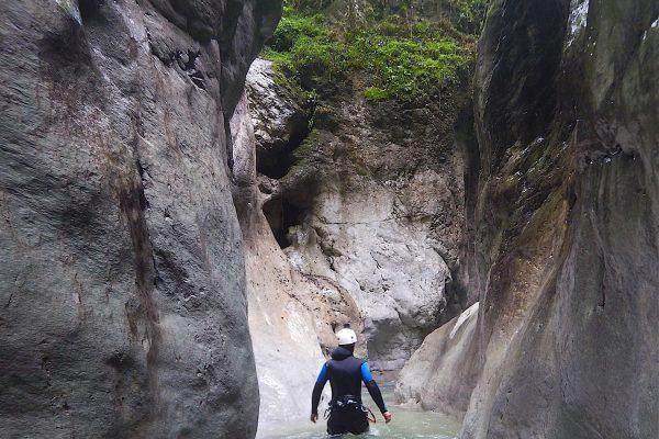 Canyoning Kobelach
